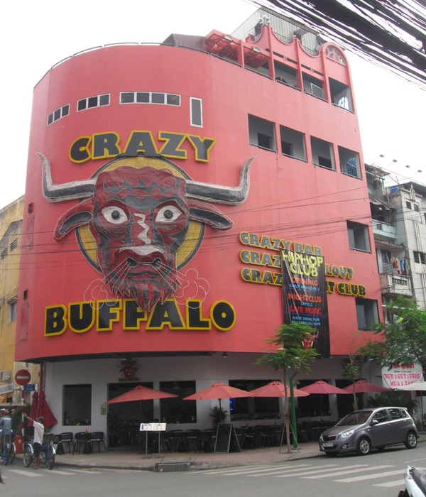 The Crazy Buffalo in 2010.