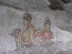 Sri Lanka Sigiriya Cave Paintings