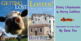 Travel & Humor E-Books on Kindle!