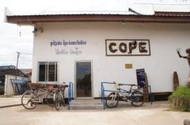 The COPE visitors' center in Vientiane, Laos.