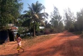A rural village on Phu Quoc Island: An easier training ground than Saigon.