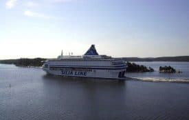 Silja Line ferry from Helsinki, FInland, to Stockholm, Sweden.