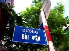 Bui Vien Sign