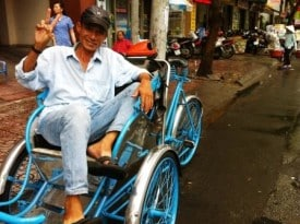 Saigon Cyclo dave-fox-globejotting-dot-com