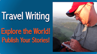 online travel writing course
