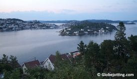 A late summer night in Kragerø, Norway.