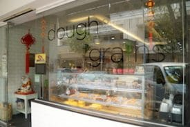The original Dough and Grains bakery is located in the heart of Tiong Bahru, a neighborhood in Singapore that's popular among alternative start-up businesses.