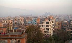 01 kathmandu hazy sunrise