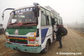 Nepal Bus - Globejotting dot com