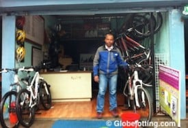 Kaji Rana is the friendly owner of Chain 'n' Gear Mountain Bikes in Pokhara. He offers bike rentals and cycling tours, and he can help with other travel planning too.