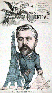 "French artists of many ilks protested the construction of the Eiffel Tower. Gustave Eiffel, whose company designed and built it, deflected their criticism, comparing the structure to the Egyptian pyramids: ""My tower will be the tallest edifice ever erected by man. Will it not also be grandiose in its way? And why would something admirable in Egypt become hideous and ridiculous in Paris?"""