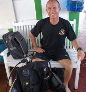 Rodolphe Jobard runs Searama Diving on Phu Quoc Island in Vietnam.