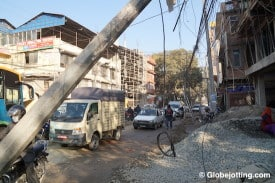 December, 2014: Even before the earthquake, Kathmandu suffered from a weak infrastructure and poorly constructed buildings.