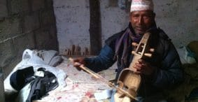 A Music Lesson in Nepal: The Sarangi