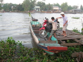 "In the Mekong Delta, ""local transportation"" takes on a whole new meaning."
