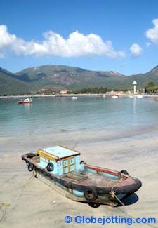 Con Dao Vietnam fishing boat