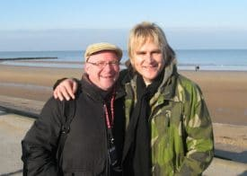 Mike Peters and me