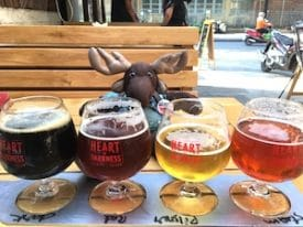 Globejotting travel mascot Sven Wondermoose was an official taste-tester for this article.