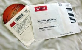 Netflix return envelope from 2006