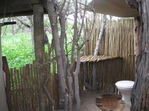 Safari-toilet