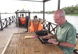 A tight deadline in the Mekong Delta.