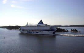 Silja Line ferry from Helsinki, FInland, to Stockholm, Sweden.