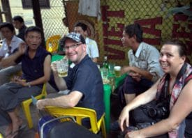 """Random streets lead to random friends. (Photo: """"Pierre"""" Phan Thanh Hiệp.)"""