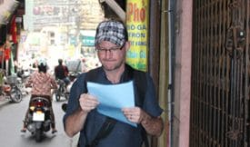 Armed with a copy of my old article and a dreadfully ugly hat, I set off on my mission.