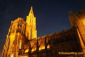 Strasbourg's cathedral is the sixth tallest church in the world.