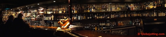 The Karls-Berger Pub in Longyearbyen: Come thirsty!