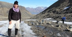 Fossil Hunting in Svalbard