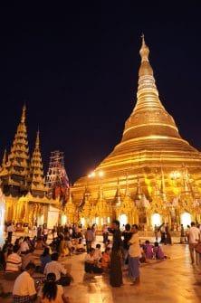 Shwedagon Pagoda in Yangon. Burma, offers sensory overload you can't capture in a photo alone.