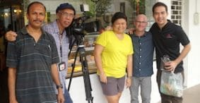 My Channel NewsAsia Interview: Travel Writing in Tiong Bahru, Singapore