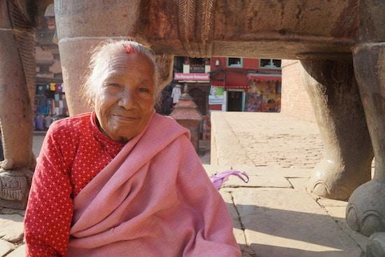 Bhaktapur lady