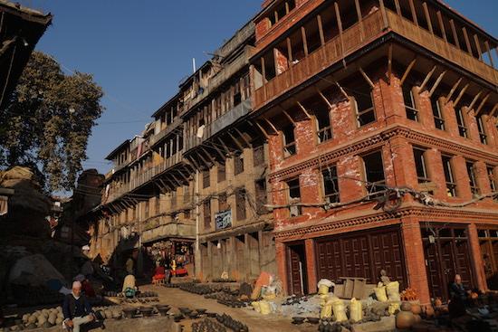 Bhaktapur potters square 2
