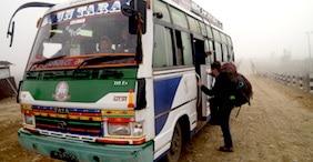 Bus Adventures in Nepal