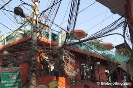Nepal's fragile electrical system has left communities without power for days. Daily blackouts were the norm, even before the earthquake.