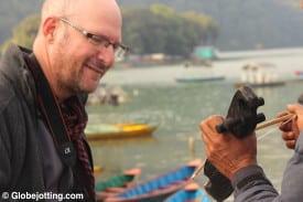 pokhara-nepal-lakeshore-sarangi-photo by kattina rabdau-fox
