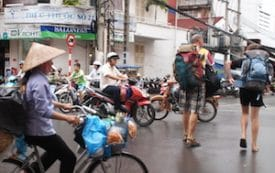"""Bui Vien Street is sometimes referred to as Saigon's """"budget travelers' ghetto,"""" but beneath the surface, the neighborhood is bursting with stories."""