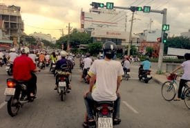 Ho Chi Minh City: Rumbling toward new adventures in 2016.