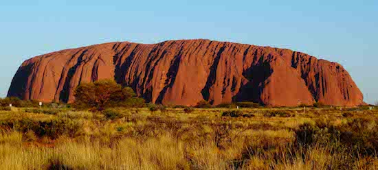Uluru, in the Red Centre Desert in Australia's Northern Territory, is believed to be around 700-million years old. (Photo: David Higham)