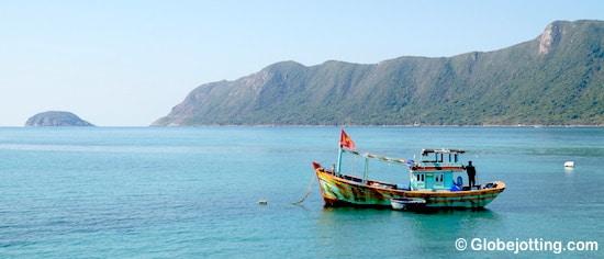 Con Dao Vietnam fishing boat 2