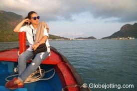 Vân is Côn Đảo's English-speaking tour guide.