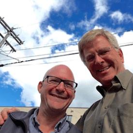 Dave Fox and Rick Steves - Vietnam radio interview