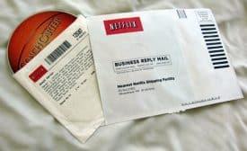 Netflix return envelope from 2006